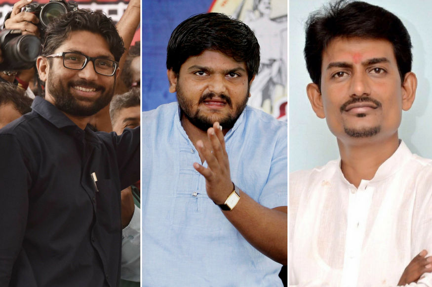 Caste-ing Coup in Mind, Congress Offers Election Tickets to Fiery Gujarat Trio; Hardik Rejects Within Minutes