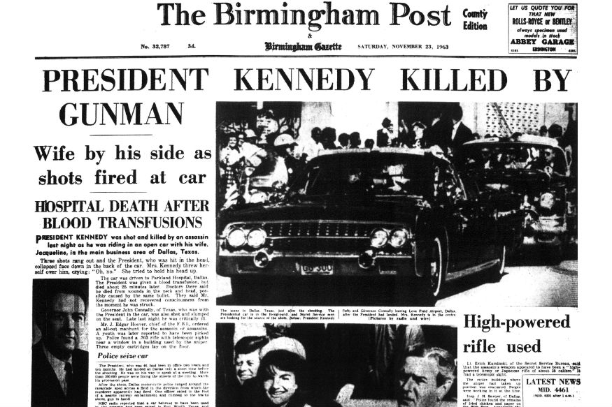 the conspiracy plot to kill john f kennedy The president's commission on the assassination of president john f kennedy believed there was a conspiracy in kennedy to kill kennedy.