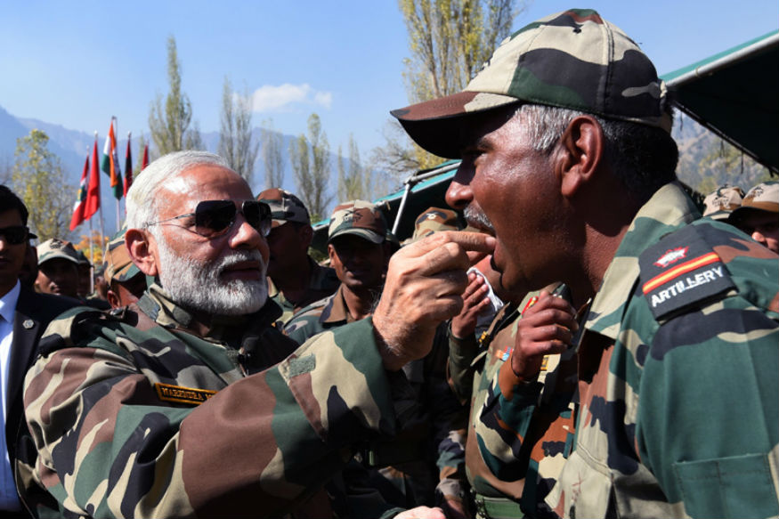 You're Family, Not Formality, PM Modi Tells Soldiers During Diwali Visit