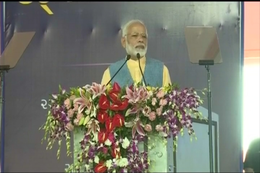 Narendra Modi in Gujarat LIVE: PM Launches 'Ro-Ro' Ferry Service, Says UPA Stalled Infra Projects
