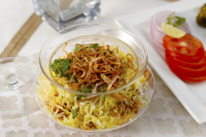 Biryani in a Bowl for George Bush by Chef Hemant Oberoi