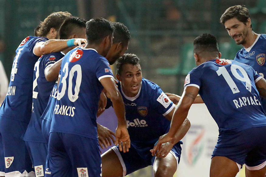ISL 2017, Live Score, Chennaiyin FC vs NorthEast United FC: Raphael And Rafi Clinch the Points