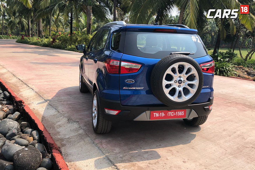 2018 Ford EcoSport From The Back Photo Siddharth Sharma News18