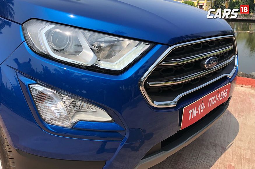 2018 Ford EcoSport receives update to the front-end design. (Photo: Siddharth Sharma/News18.com)