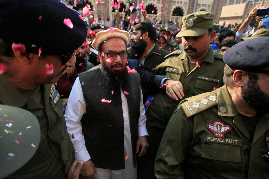 26/11 Attacks Mastermind Hafiz Saeed Walks Free, Raises Kashmir Bogey Again
