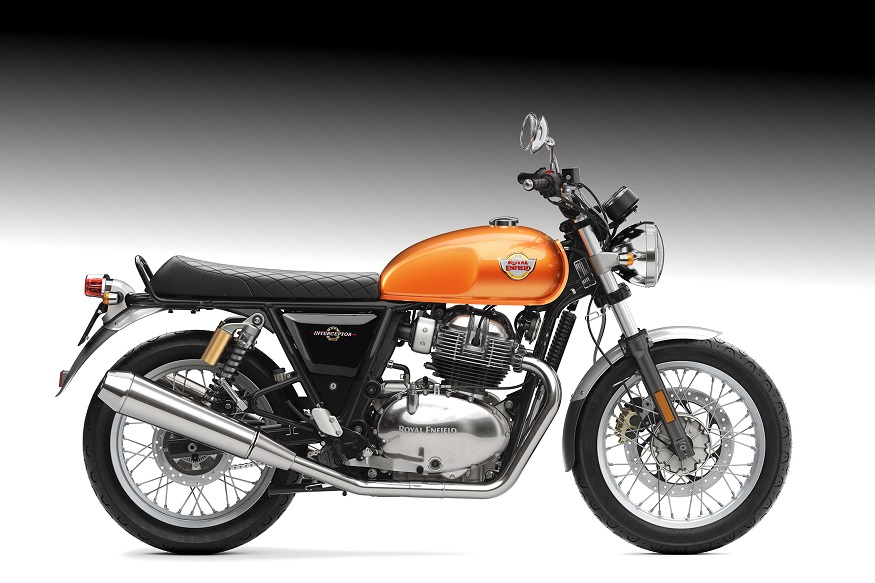 Royal Enfield Interceptor INT 650 - Orange Crush. (Image: Royal Enfield)