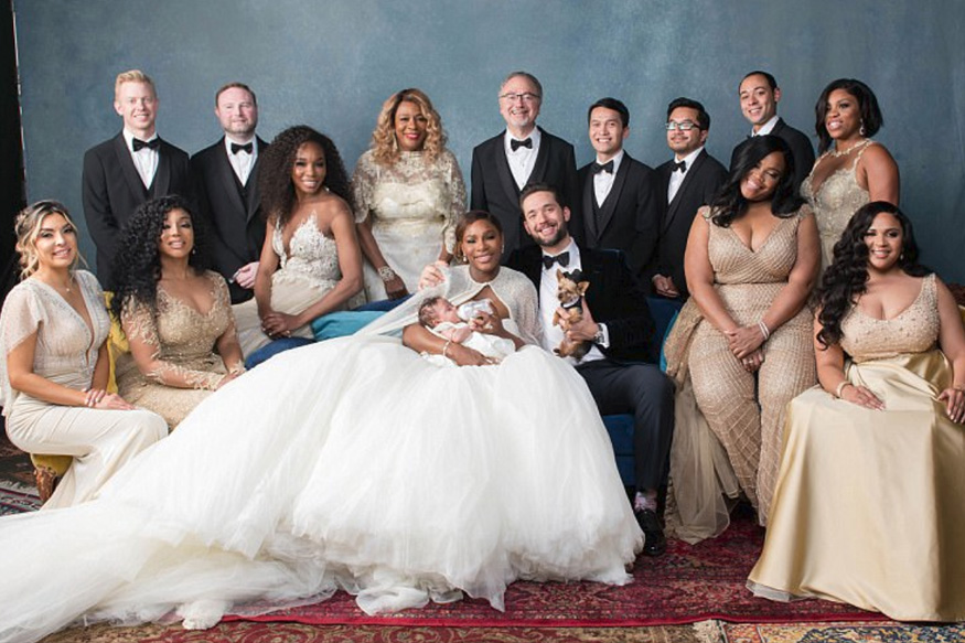 Serena Williams Ties the Knot With Reddit Founder Alexis Ohanian