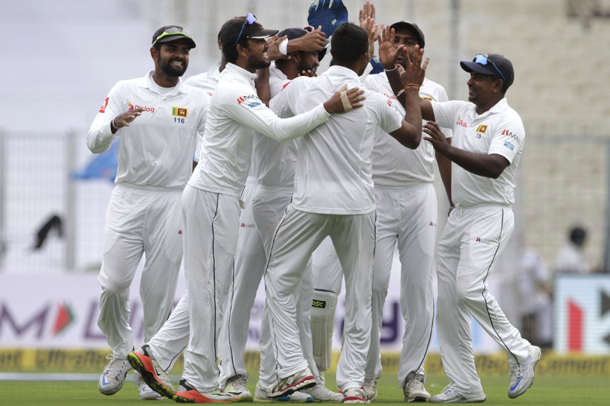 Live Cricket Score, India vs Sri Lanka, 1st Test, Day 3, Kolkata: Lakmal Scalps Four as Hosts Dismissed for 172