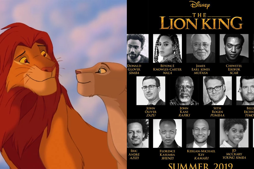 the lion king live action cast announced  beyonce  donald