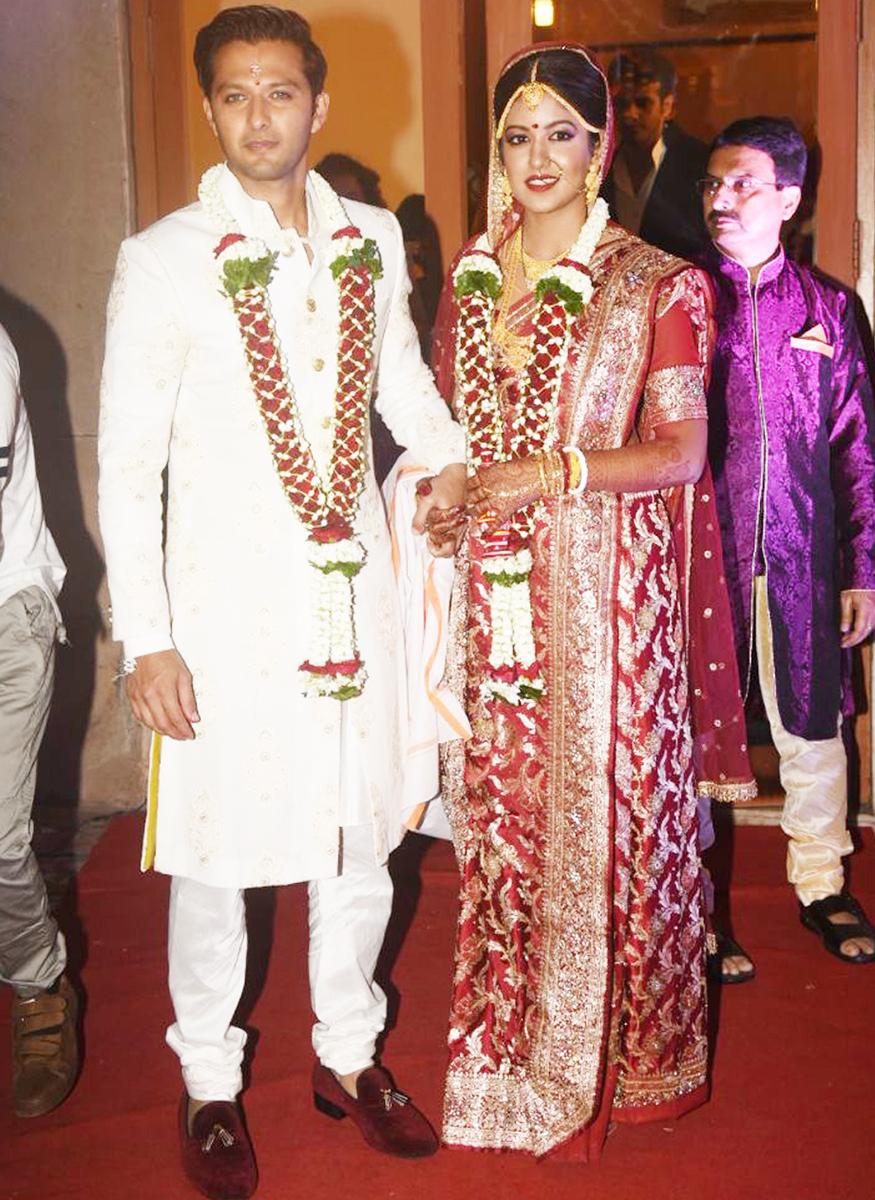 Image result for vatsal Seth and Ishita Dutta wedding pics