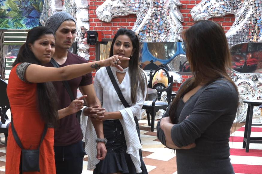 Bigg Boss 11 Nov 23: Puneesh Calls Sapna Uneducated, She Labels Him Ugly!