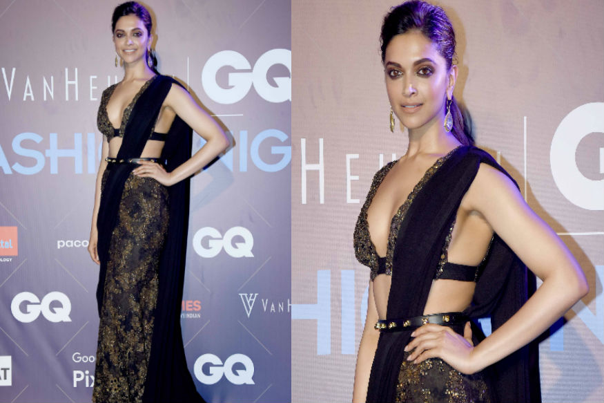 (Photo: Actress Deepika Padukone at Van Heusen + GQ Fashion Nights 2017/ Yogen Shah)