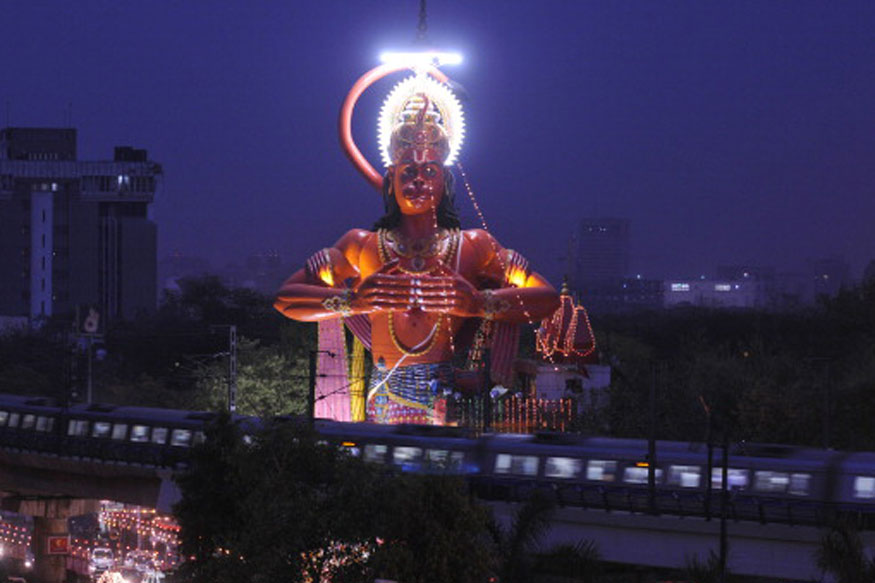Consider Airlifting 108-Foot Hanuman Statue in Karol Bagh to Remove Congestion, Says Delhi HC