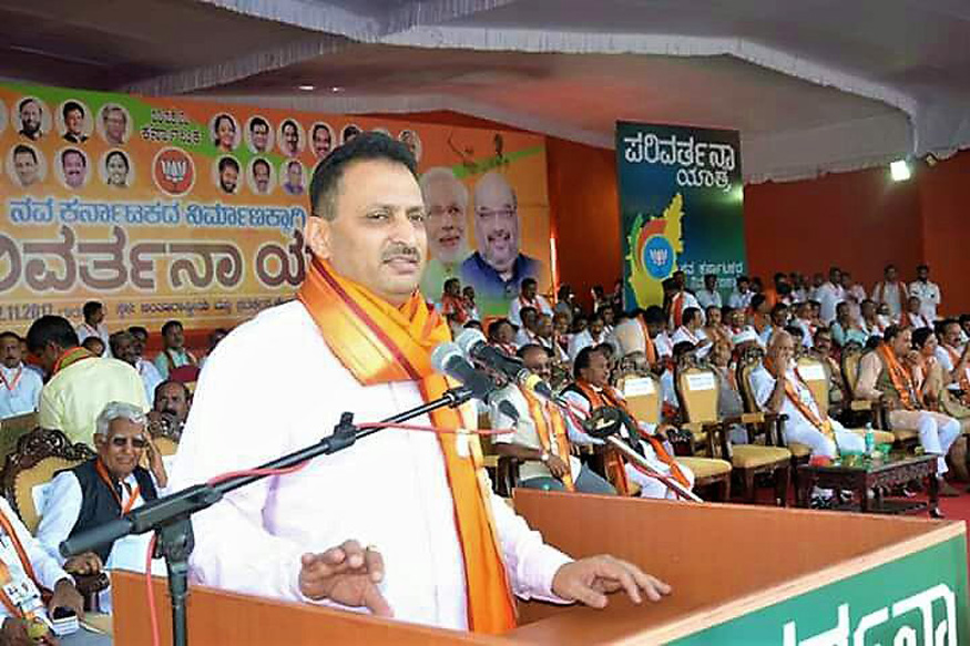 After Constitution Controversy, Anantkumar Hegde Courts Kannada