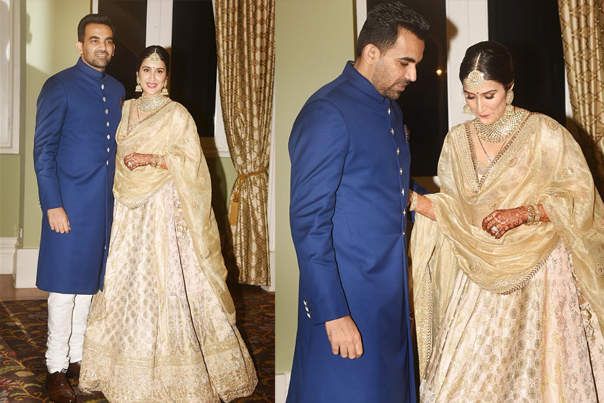 Sagarika Ghatge and Zaheer Khan host a Mehndi ceremony