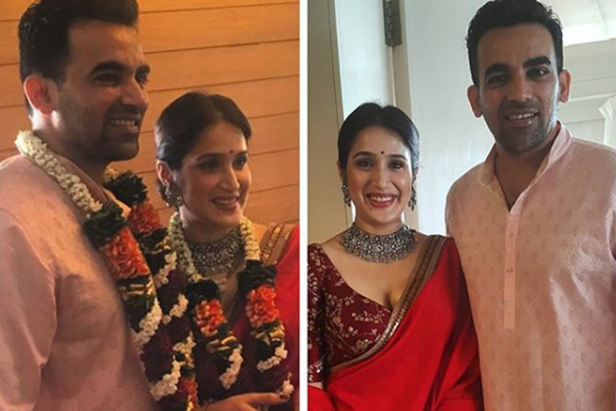 Zaheer Khan, Sagarika Ghatge Are Officially Married; See First Pics