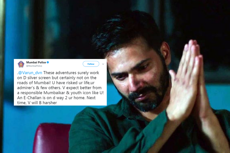 Twitter Suggests Contenders For Challan After Mumbai Police Fines Varun Dhawan