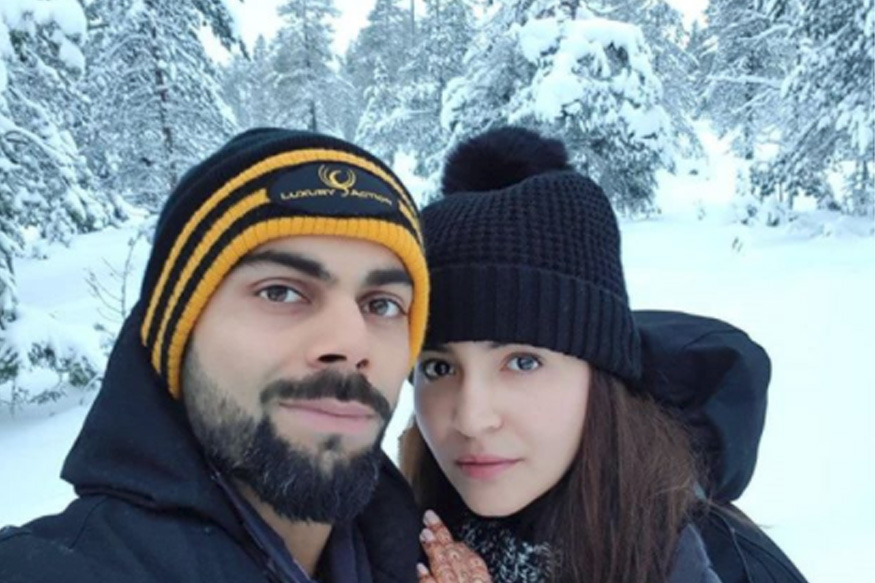 "Virat Kohli, Anushka Sharma Share Honeymoon Photo From ""Heaven"""