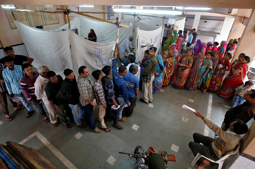 Gujarat Election LIVE: Voting Begins in Second Phase for 93 Seats