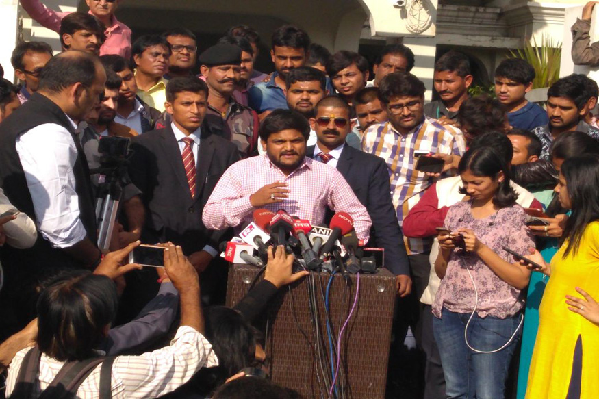 BJP Rigged EVMs to Make it a Close Contest With Congress: Hardik Patel