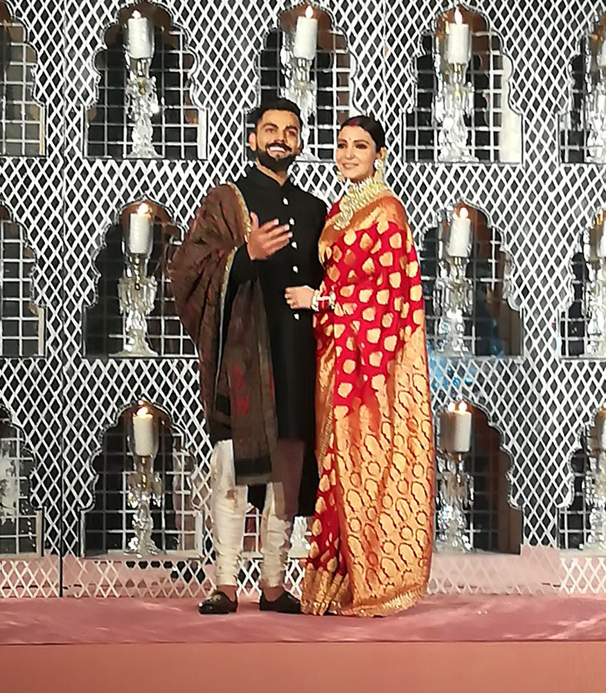 Virat Kohli-Anushka Sharma's bhangra moves with singer Gurdas Maan are winners