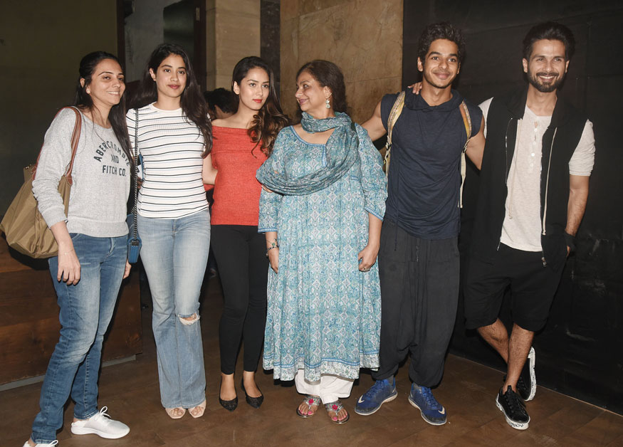 Shahid Kapoor hit the gym while Mira Rajput spends casual time