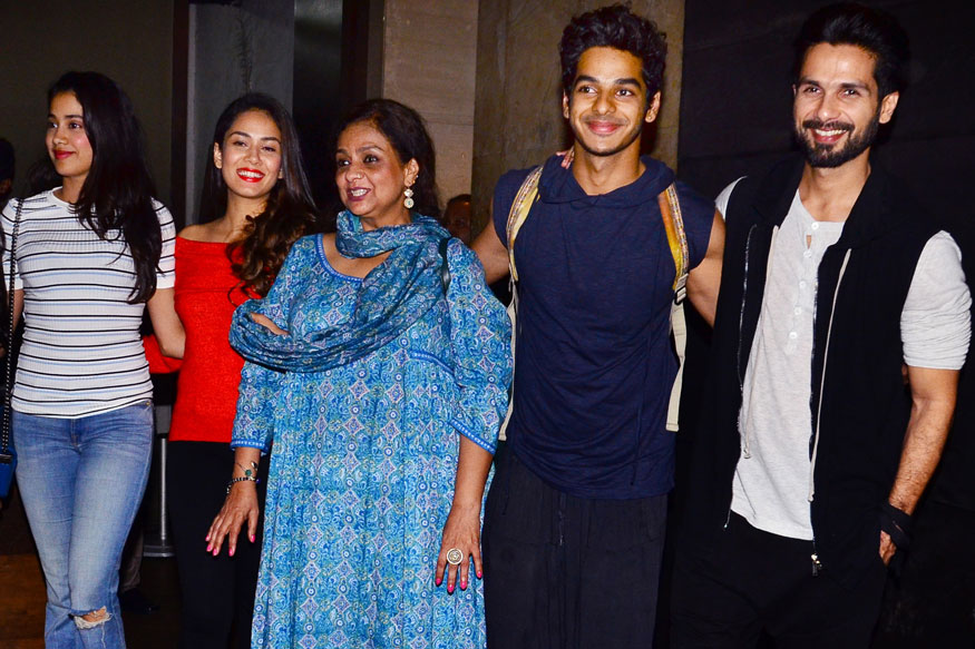 Shahid Kapoor, Mira Rajput have fun time with Ishaan Khattar