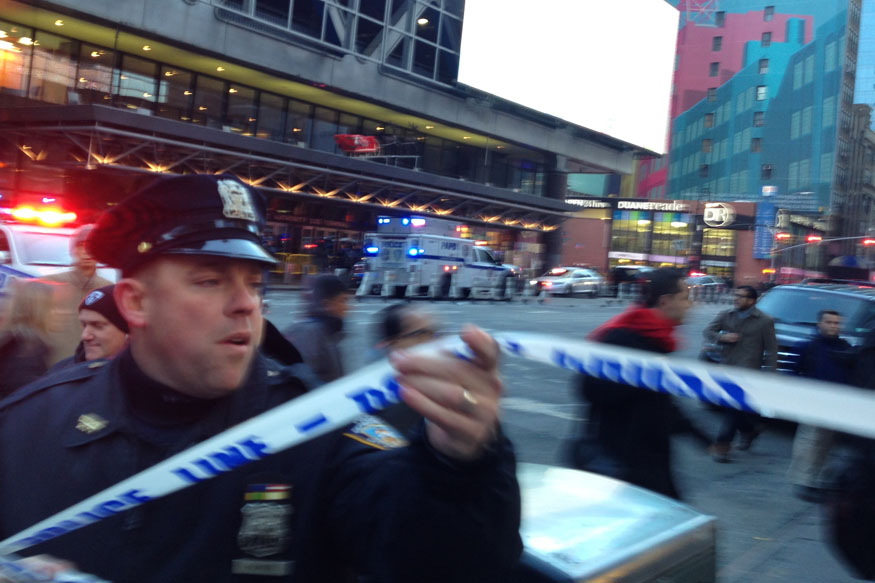 Manhattan Explosion: Bomb Explodes at New York's Main Bus Terminal