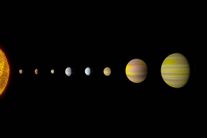 Artificial Intelligence Finds Solar System With Eight Planets Like Ours