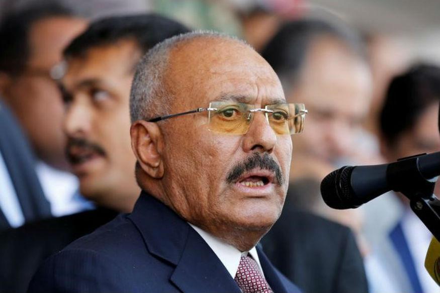 Yemen's Houthis Blow up Ex-president Ali ABdullah Saleh's House