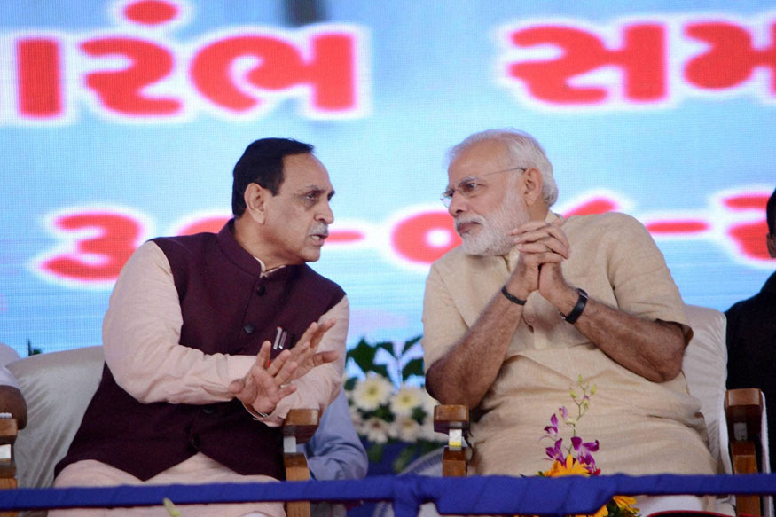 Can Vijay Rupani, the First CM Since Narendra Modi to Face Electorate, Fill the PM's Big Boots?