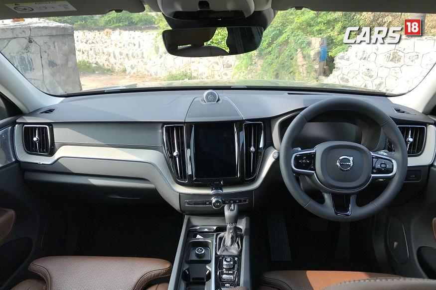Volovo XC60 Interiors. (Image: Manav Sinha/News18.com)