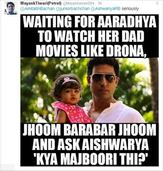 aaradhya meme