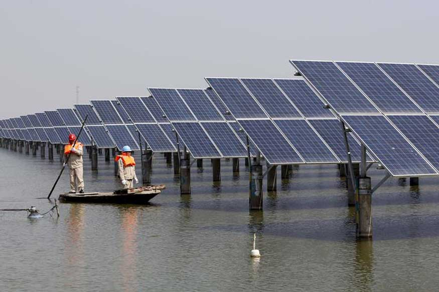 Floating Solar Cells to Produce Fuel From Water