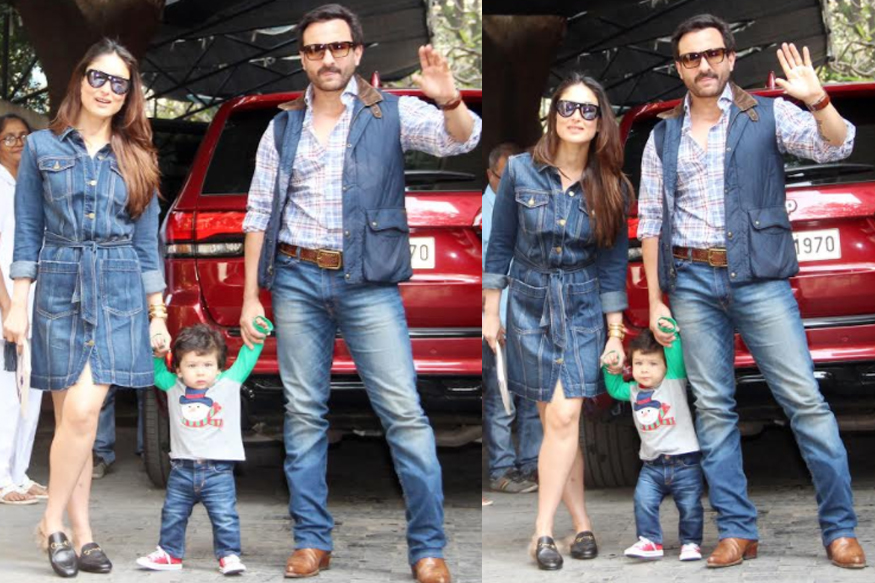 Cute Taimur celebrates Christmas lunch with kapoor family