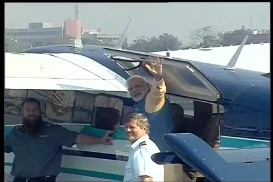 Gujarat Election Campaigning LIVE: PM Modi Buckles Up, Ready for Seaplane Take-Off