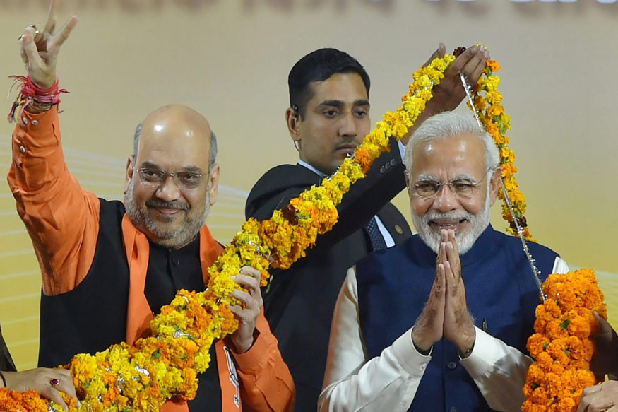 BJP Retains Fort Gujarat, Adds Himachal Pradesh to Saffron Empire
