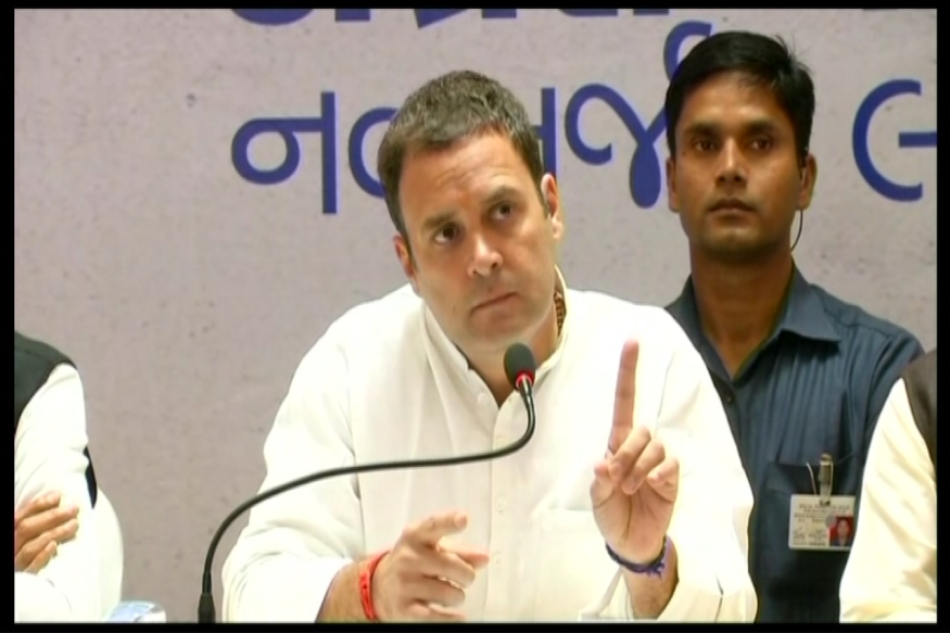 EC Issues Notice to Rahul Gandhi on Poll Eve, Orders FIR Against Gujarat Channels for Airing Interview