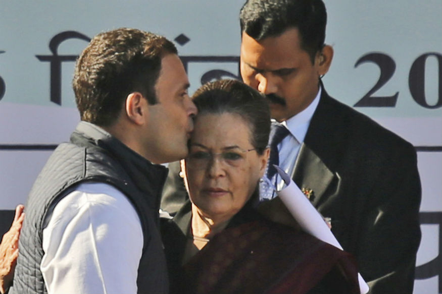 A Kiss on the Forehead: Rahul Gandhi's Perfect Farewell Gift to Mom Sonia