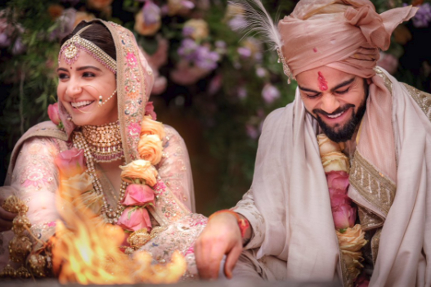 Anushka Sharma, Virat Kohli Tie the Knot in Tuscany, See Wedding Pics