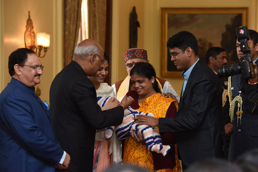 President Ram Nath Kovind Launches Pulse Polio Programme for 2018