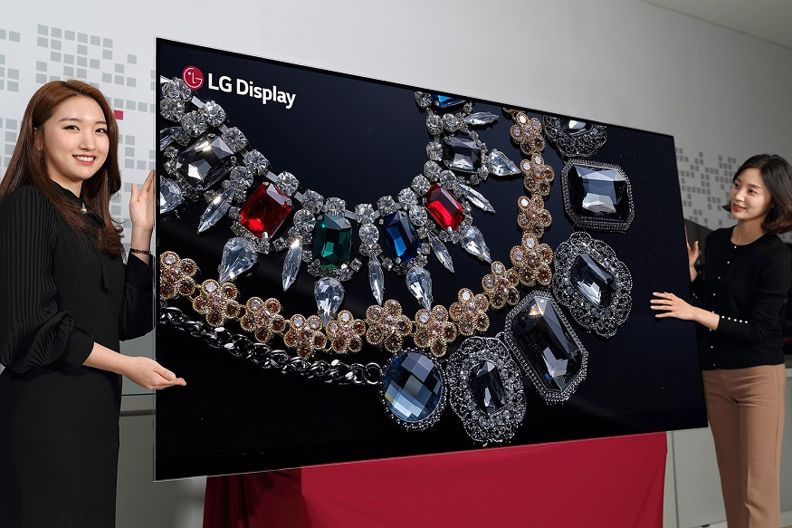 LG OLED Television, LG 8K Resolution TV,  LG CES 2018, Consumer Electronic Show 2018