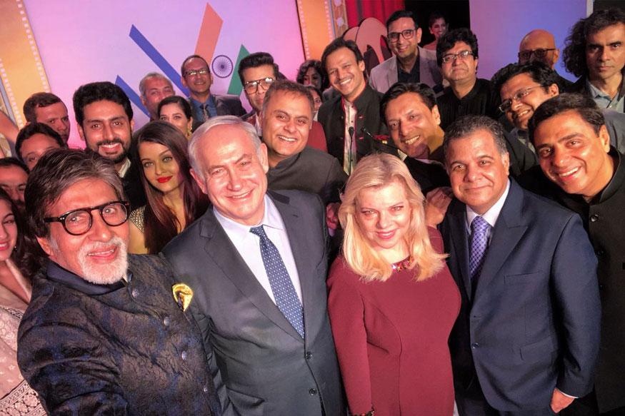 Netanyahu's Oscar Moment: Israeli PM Clicks Selfie With B-Town Stars