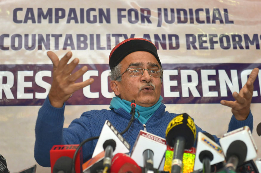 Prashant Bhushan Files Complaint Against CJI Dipak Misra, Says he Protected HC Judge From CBI Probe