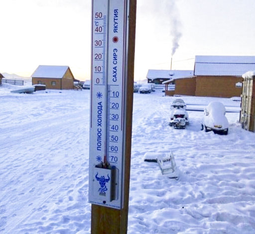 Thermometer breaks at -62C in 'world's coldest village'