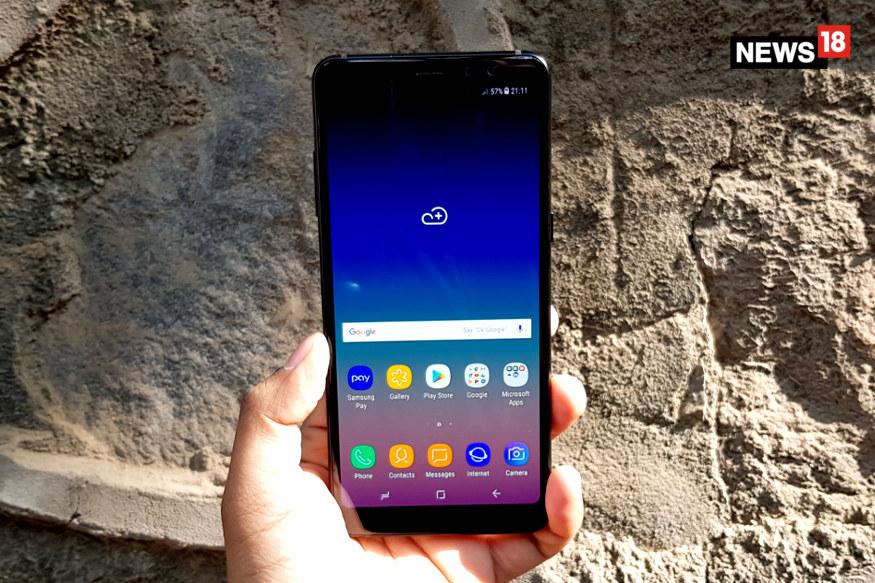 Samsung, Samsung India, Samsung Galaxy A8 Plus, Samsung Galaxy A8+, technology news