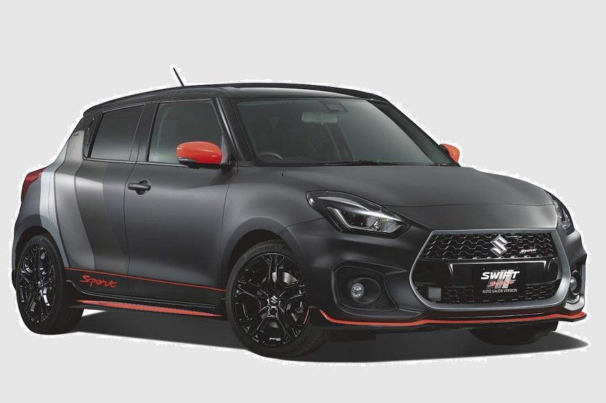 suzuki swift sport auto salon with gsx 1000 theme to debut at 2018 tokyo auto salon news18. Black Bedroom Furniture Sets. Home Design Ideas