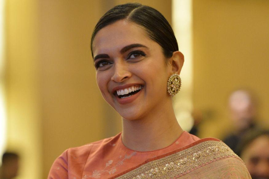 Deepika Padukone Looks Gorgeous In A Sabyasachi Saree At