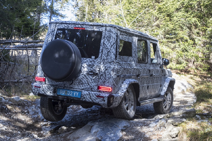 Mercedes-Benz details 2019 G-Class' improved off-road skills, shows new photos