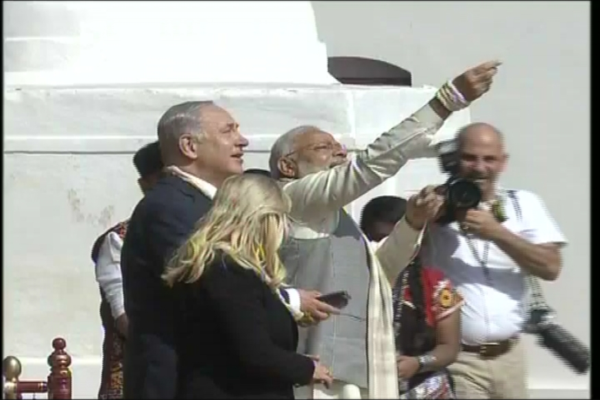 Netanyahu in Gujarat LIVE: Modi and Bibi Wrap Up Visit to Sabarmati Ashram, Head to Start-up Centre 'iCreate'
